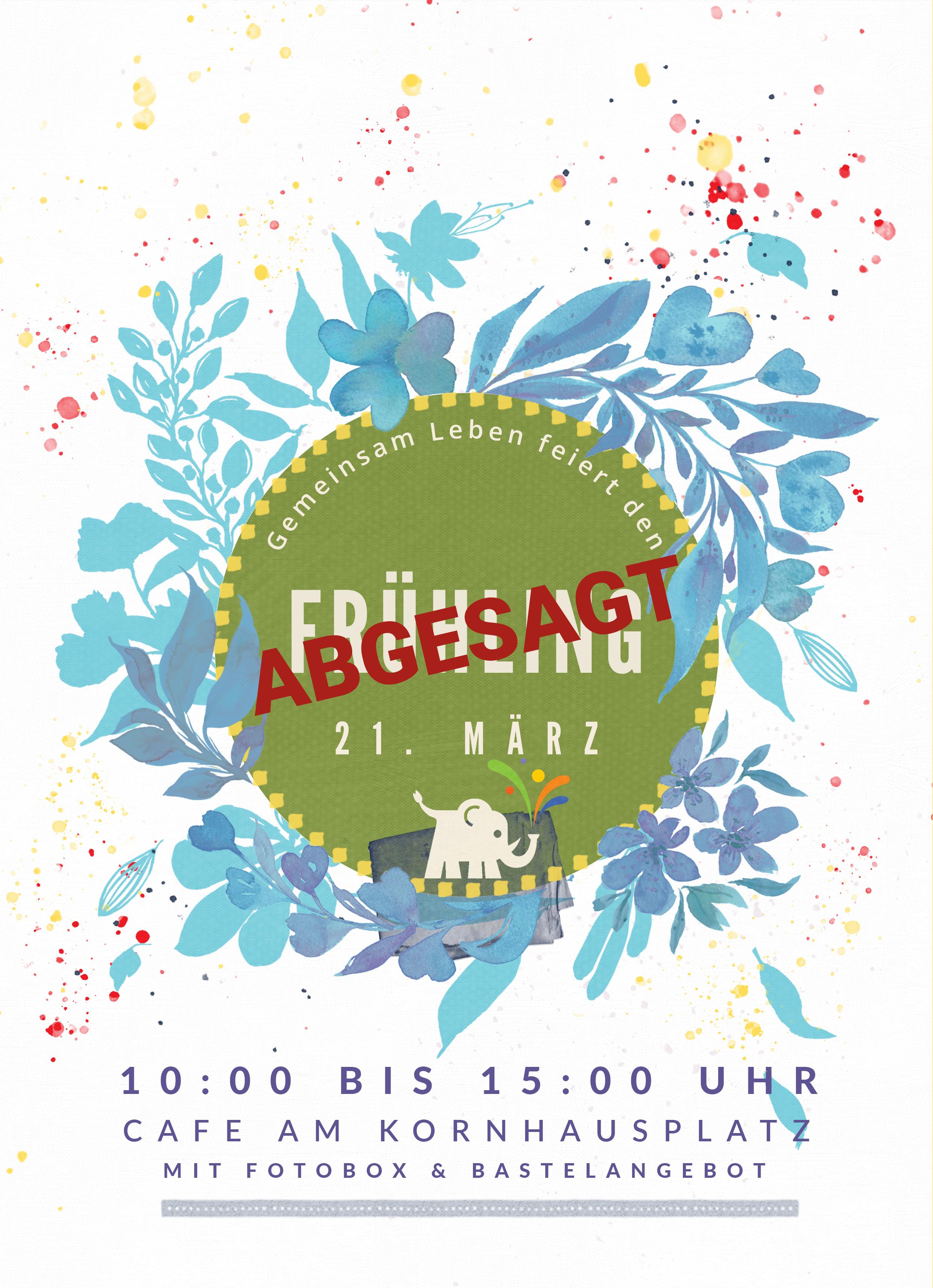 ABGESAGT: Gemeinsam Leben feiert den Frühling